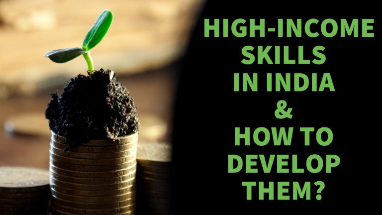 High-Income skills in India that can help you make a fortune