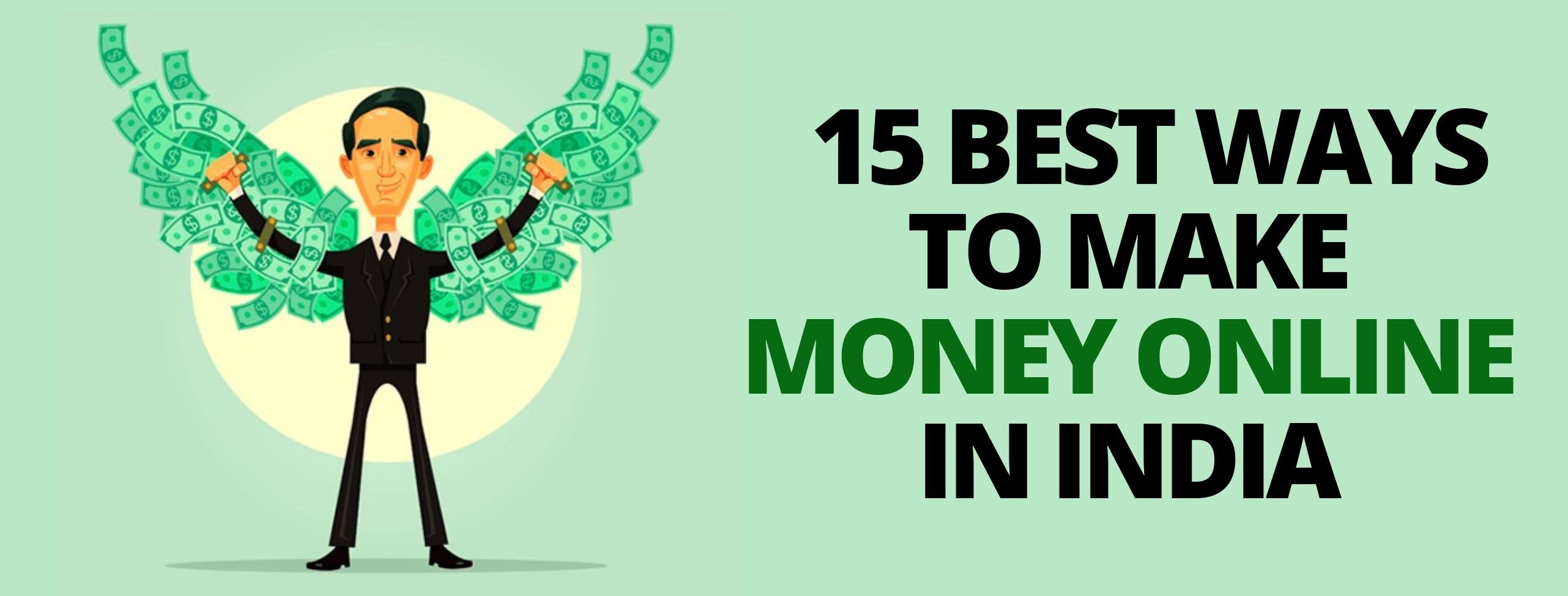 Ways to make money online in India