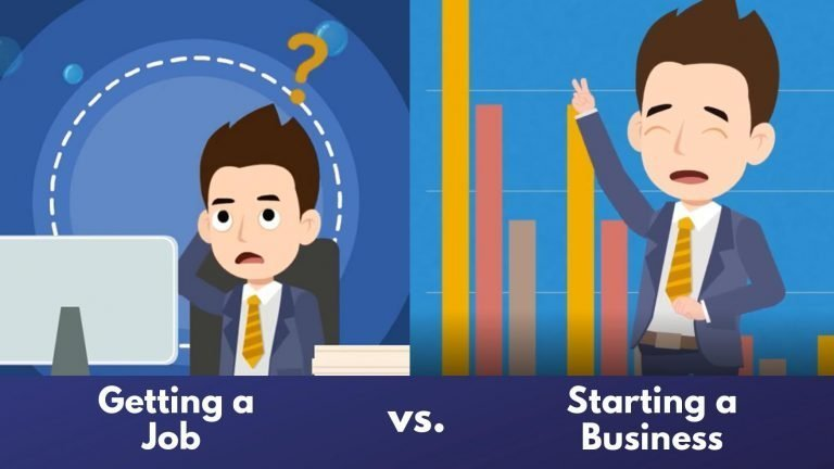 Is starting a business in India riskier than getting a job?