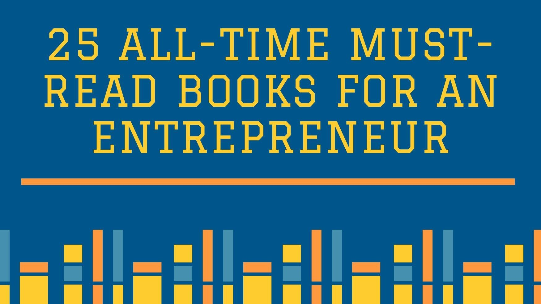 must-read books for an entrepreneur